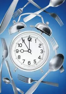 Часы и вилки